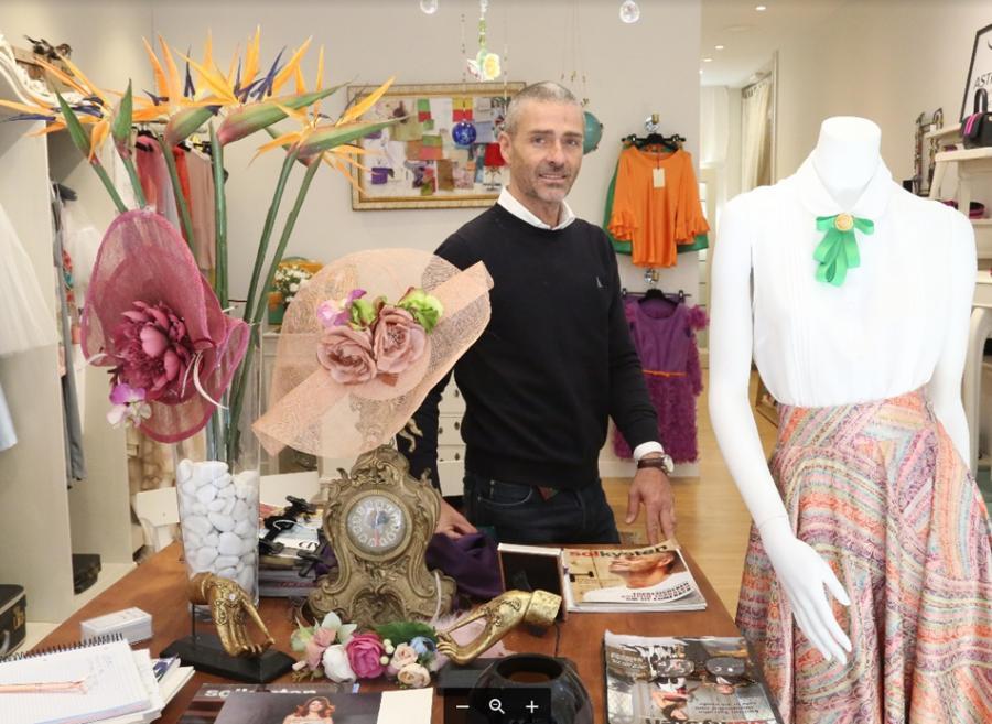 Actualidad Actualidad El diseñador Agustín Torralbo abre tienda en Fuengirola