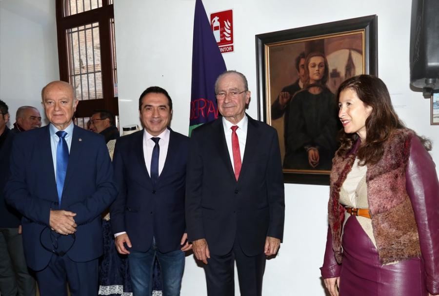 Cultura Cultura El pintor Antonio Montiel cede una obra sobre Mariana Pineda para el Centro de Interpretación Histórica Torrijos de Málaga
