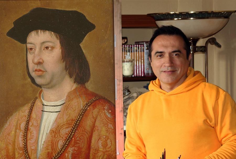 """Cultura Cultura El pintor Antonio Montiel dará vida al rey Fernando """"El Católico"""" en la Cabalgata Histórica de Málaga"""