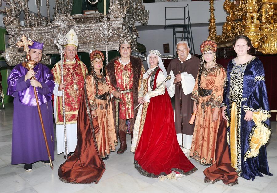 Cultura Cultura El pintor Antonio Montiel recreó la figura del rey Fernando 'El Católico' en la Cabalgata Histórica de Málaga que puso fin a la feria de agosto 2019