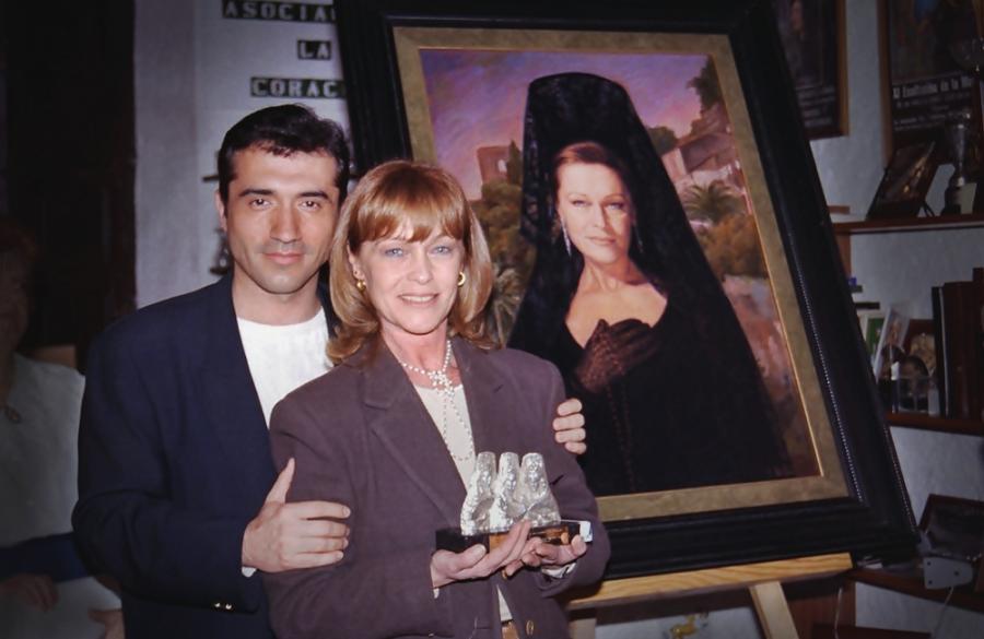 Cultura Cultura Marisol, musa eterna del pintor Antonio Montiel, Goya de Honor 2020