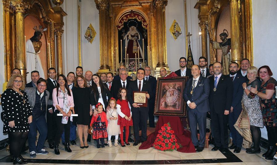 Cultura Cultura Antonio Montiel retrata a la Virgen de la Estrella como ilustración del Cartel Anunciador de la salida procesional de la Hermandad de Humillación y Estrella de 2020