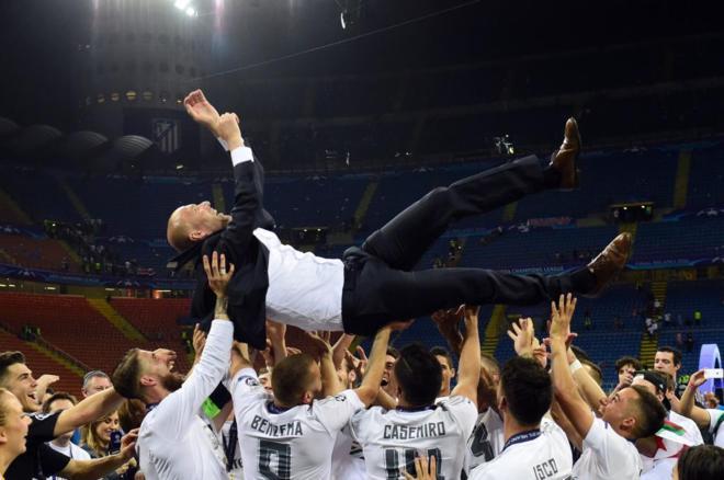 Deportes Deportes Zidane, de la Segunda B a la gloria en cinco meses