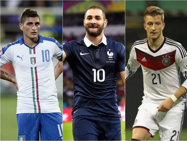 Deportes Deportes El once ideal de los descartes de la Eurocopa 2016