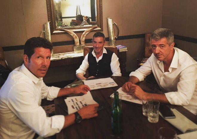 """Deportes Deportes Simeone sigue en el Atlético: """"Trabajando desde Buenos Aires"""""""