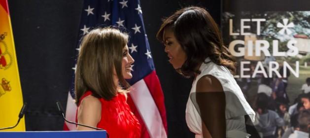 Actualidad Actualidad Letizia y Michelle, el reencuentro de dos amigas