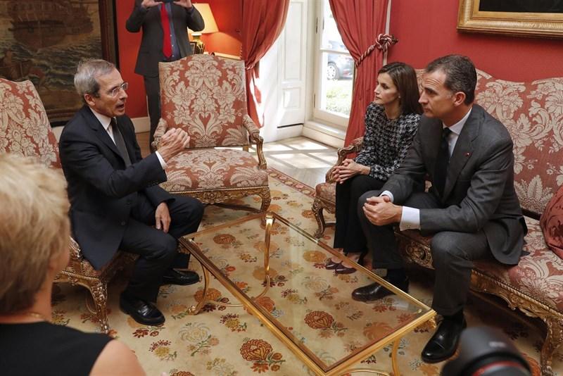 Actualidad Actualidad Los Reyes presentan sus condolencias por las víctimas al embajador de Francia en España