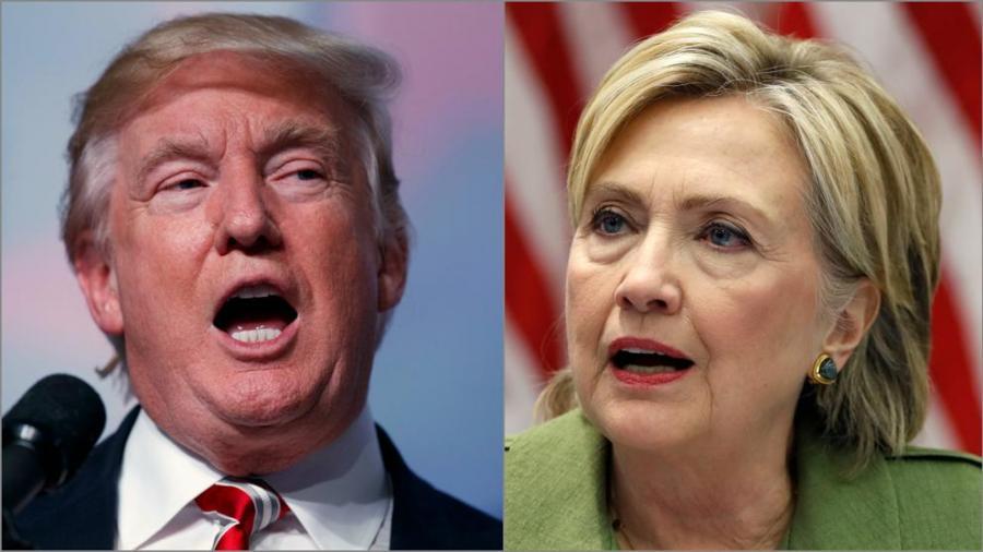 Actualidad Actualidad Donald Trump se acerca a Hillary Clinton en los últimos sondeos