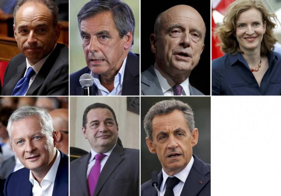 Actualidad Actualidad La derecha inicia la campaña de primarias con Juppé y Sarkozy como favoritos