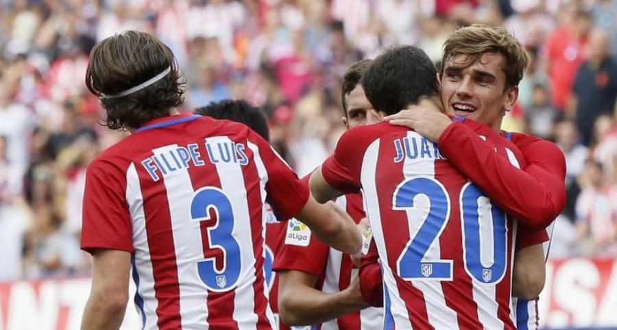 Deportes Deportes Griezmann y el Atlético doblan al Deportivo