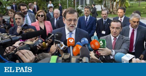 Actualidad Actualidad Rajoy no pondrá condiciones al PSOE para la investidura