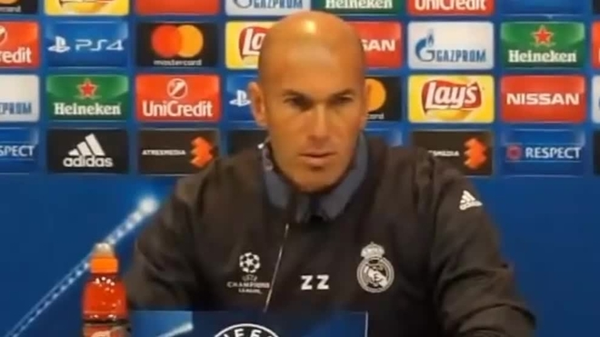 """Deportes Deportes Champions League: Zidane: """"Me molestan las palabras de Hollande"""""""