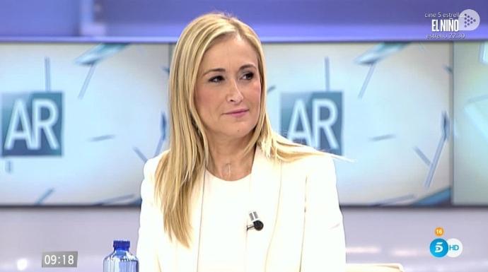 """Actualidad Actualidad Cifuentes revoluciona las redes al sacar a la luz las """"niñerías"""" de Espinar"""