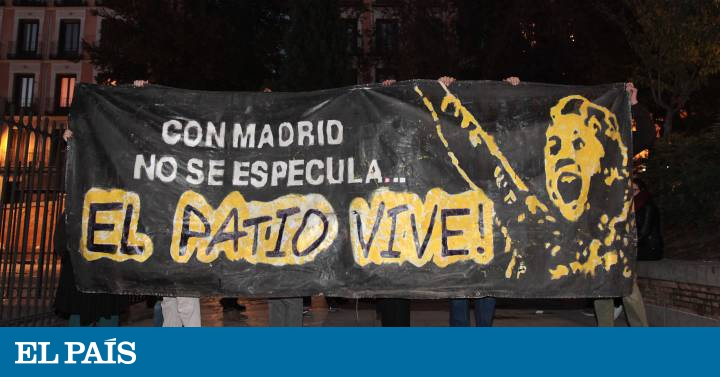 Actualidad Actualidad Zapata y Mato se concentran en apoyo al Patio Maravillas
