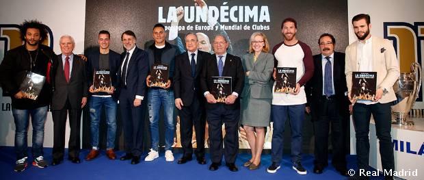 Deportes Deportes La Fundación Real Madrid presentó el libro 'La Undécima'