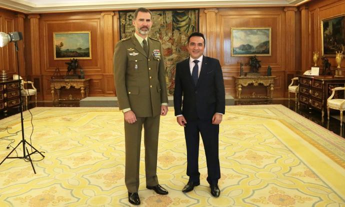 Actualidad Actualidad Antonio Montiel ya se ha reunido con Felipe VI