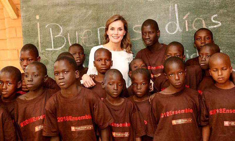 Actualidad Actualidad La reina Letizia pone fin a su viaje en Senegal: 'Mi labor es dar visibilidad a la cooperación'