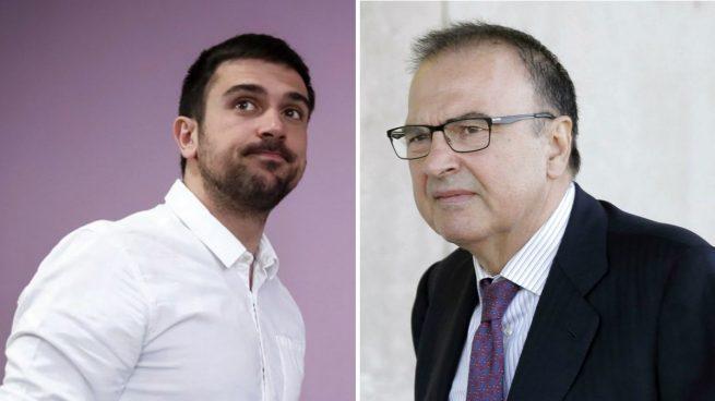 Actualidad Actualidad La Complutense dio una beca de 480 € al mes a Ramón Espinar siendo su padre black un jefe de la Universidad