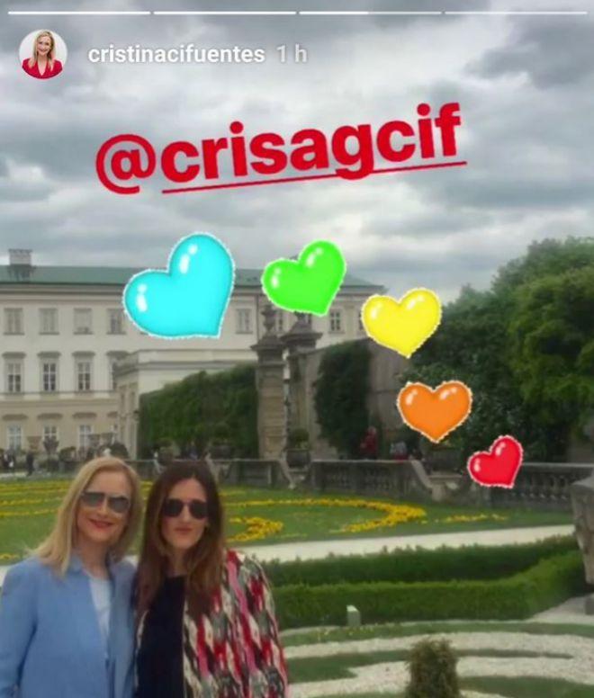Actualidad Actualidad Así ha sido la primera semana de Cristina Cifuentes tras su dimisión: su viaje a Munich y Salzburgo