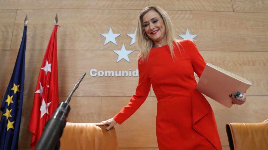 Actualidad Actualidad Cristina Cifuentes solicita su reingreso como funcionaria en la Universidad Complutense