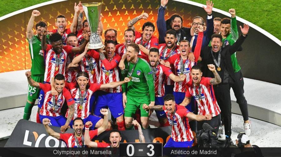 Deportes Deportes Griezmann regala al Atlético de Madrid la tercera Europa League con un doblete