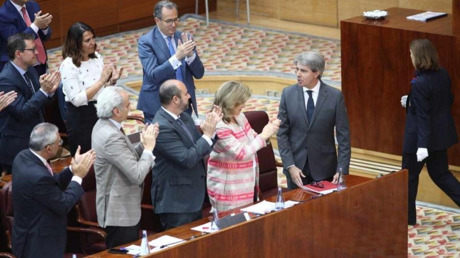 Actualidad Actualidad Ángel Garrido, elegido presidente de la Comunidad