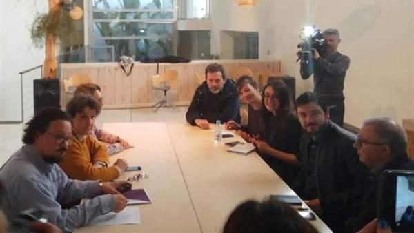 Actualidad Actualidad La reunión entre Podemos y el tándem IU-Anticapitalistas termina sin acuerdo para la lista única en Madrid