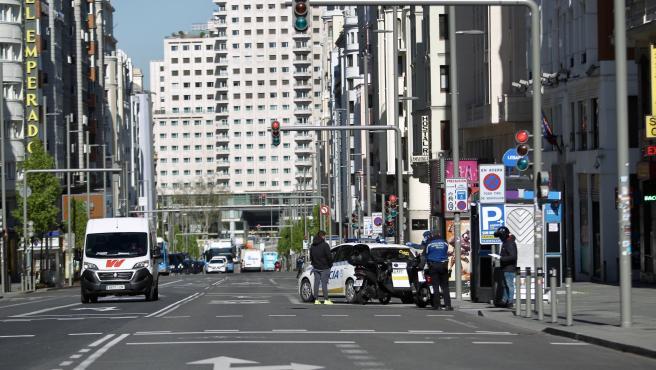 Actualidad Actualidad Madrid registra la mayor caída de tráfico desde el inicio de la crisis sanitaria